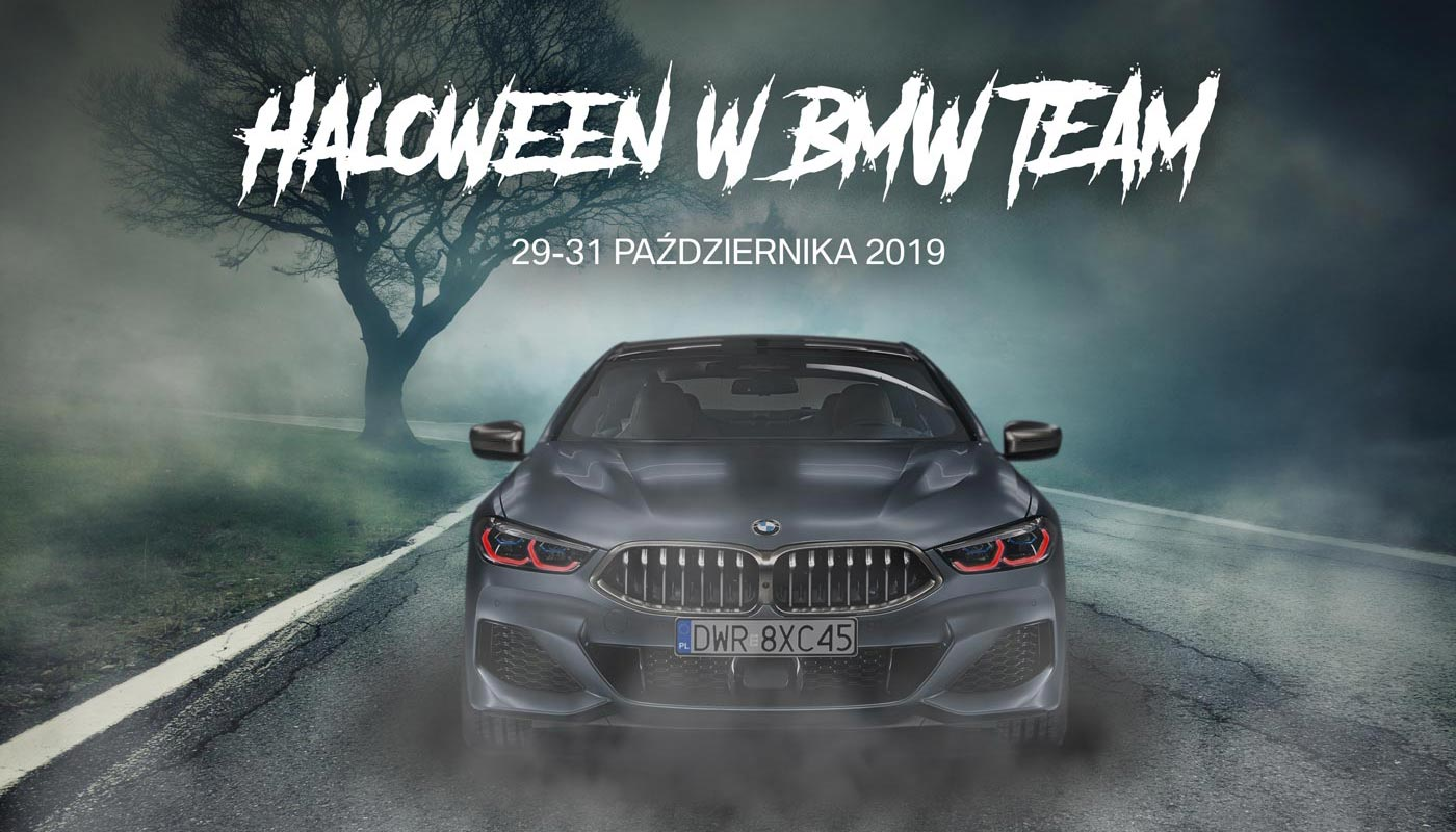 Halloween w BMW TEAM